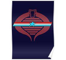 G.I. Cobra Logo Poster