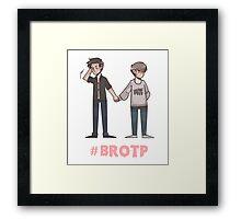 #BROTP Framed Print