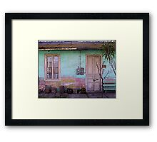 Frontis ...and a Poem Framed Print