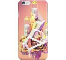 Low Poly Puzzle Scene iPhone Case/Skin