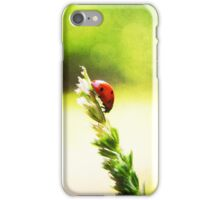 Ladybug High descent iPhone Case/Skin
