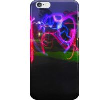 light graffiti iPhone Case/Skin