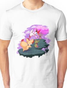 Victini and the Sakura Tree Unisex T-Shirt