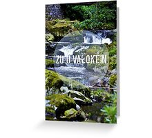 zu'u valokein  Greeting Card