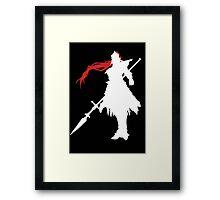 Dragonslayer - Inverse Framed Print