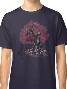 The Cheshire's Tree sumi-e (monochrome) Classic T-Shirt