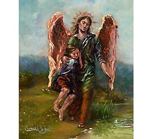Archangel Raphael with Tobias Photographic Print