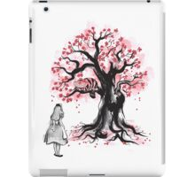 The Cheshire's Tree sumi-e (monochrome) iPad Case/Skin