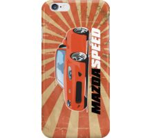 Mazda Speed iPhone Case/Skin
