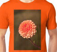 Orange Dahlia in the Halifax Public Gardens Unisex T-Shirt