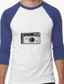 retro camera iphone case Men's Baseball ¾ T-Shirt