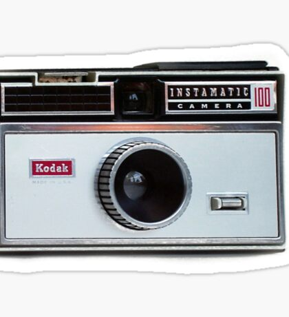 retro camera iphone case Sticker
