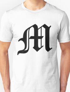 Death Note: M (Black) T-Shirt
