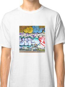 Brooklyn Graffiti 11 Classic T-Shirt