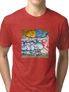Brooklyn Graffiti 11 Tri-blend T-Shirt