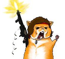 Hamster Rambo by CRGArtDesign