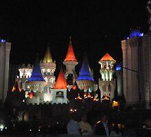The Excalibur Hotel in Las Vegas by haili30