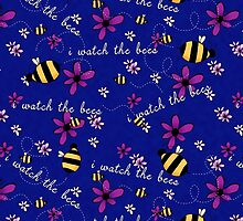 I Watch the Bees by katstpete