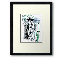 Lady Grantham Framed Print