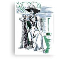 Lady Grantham Metal Print