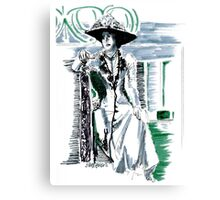 Lady Grantham Canvas Print