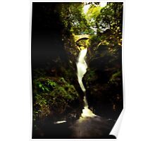 Aira Force Waterfall in the Lake District Poster
