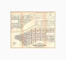 Vintage Map of New York City (1871) Unisex T-Shirt