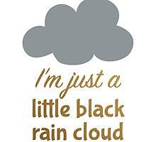 A Little Black Rain Cloud by elainalynn