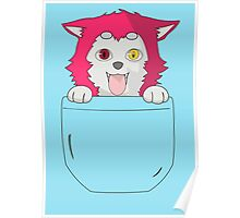 Seijuro Akashi Puppy Poster