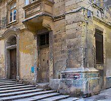 Character Corner in Valletta Malta by Edwin  Catania
