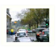 Rainsoaked Art Print