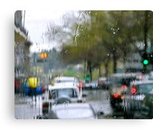 Rainsoaked Canvas Print