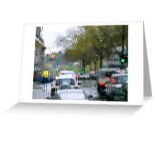 Rainsoaked Greeting Card