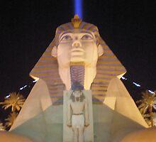 Sphynx at Luxor by haili30