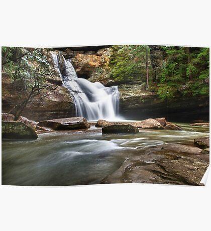 Cedar Falls in March Poster