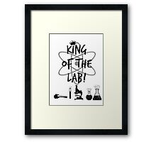 King of the Lab! 2 Framed Print