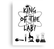 King of the Lab! 2 Metal Print