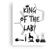 King of the Lab! 3  Metal Print