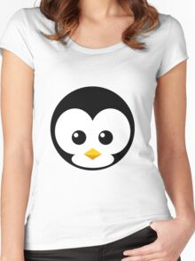 Penni Penguin Women's Fitted Scoop T-Shirt