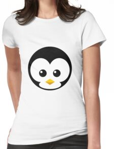 Penni Penguin Womens Fitted T-Shirt