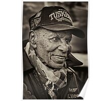 Captain R.C. Brown - Tuskegee Airman, Veterans Day 2011 NYC Poster