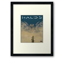 HALO 5 GUARIDANS Framed Print