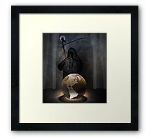 Forecast: dark.  Framed Print