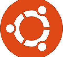 Ubuntu 1-Colour Logo by anttiviljami