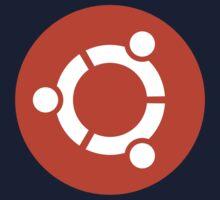 Ubuntu 1-Colour Logo One Piece - Short Sleeve
