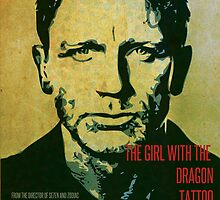 The Girl with the Dragon Tattoo Poster Design 02 by Ryan Williams