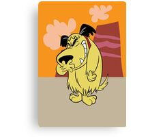 Laughing Muttley Canvas Print