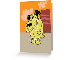 Laughing Muttley Greeting Card
