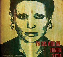 The Girl with the Dragon Tattoo Poster Design 01 by Noire Studios