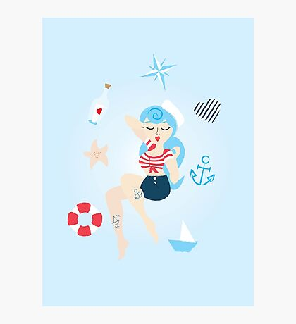 Oh Sweet Sailor Photographic Print